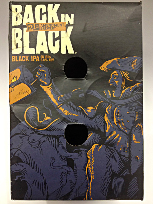 21st Ammendment Back in Black Black IPA