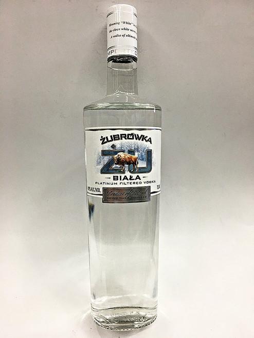 Zubrowka ZU Biala Vodka