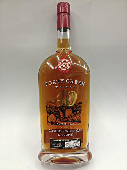 Forty Creek Confederation Oak Reserve Whisky