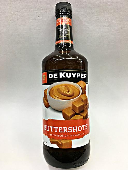 Dekuyper Buttershots Butterscotch Schnapps 1 Liter