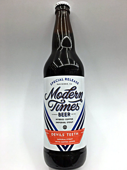 Modern Times Devils' Teeth Coffee Imperial Stout