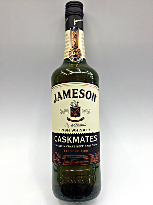 Jameson Caskmates Aged In Craft Beer Barrels Stout Edition