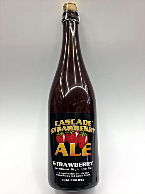 Cascade Strawberry Oak Barrel Aged with Vanilla Beans