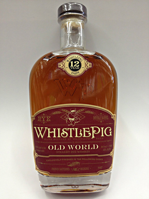 WhistlePig Old World Madeira 12 Year Old