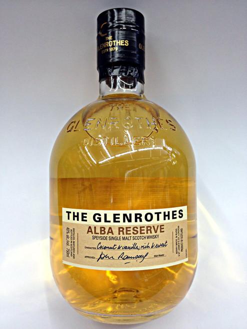 The Glenrothes Alba Reserve Scotch Whisky