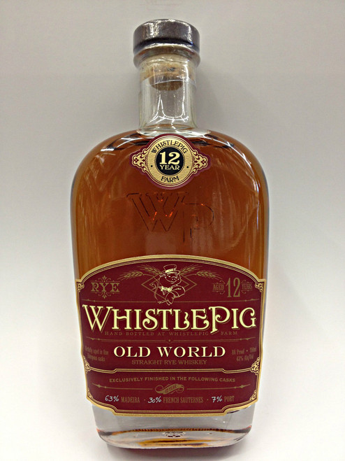 WhistlePig Old World Marriage 12 Year Old Rye