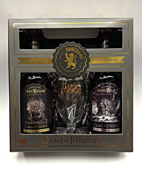 Ommegang Game Of Thrones Iron Throne & Take The Black