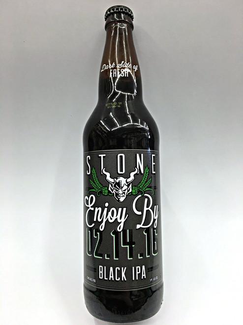 Stone Enjoy By Black IPA 02.14.16