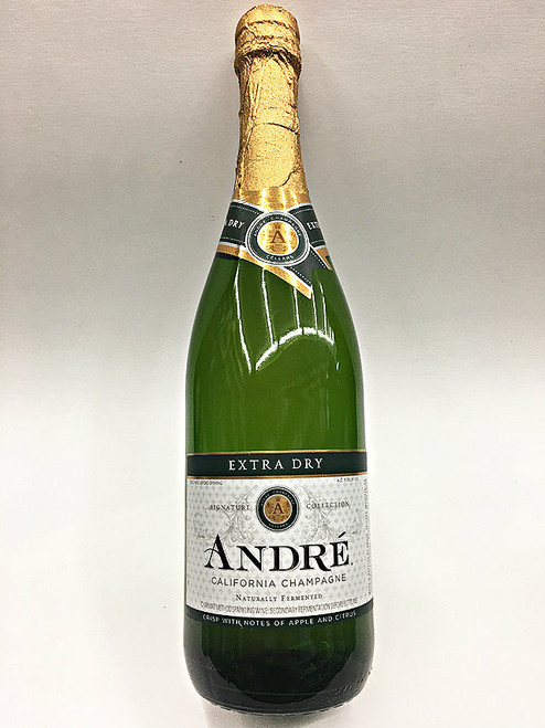 Andre's Extra Dry White Champagne