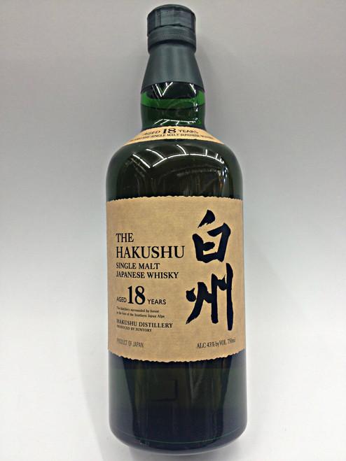Suntory The Hakushu 18 Year Japanese Whisky