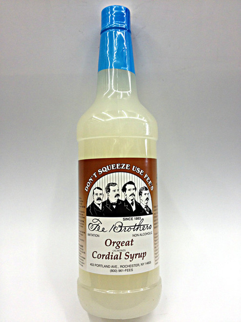 Fee Brothers Orgeat Cordial Syrup