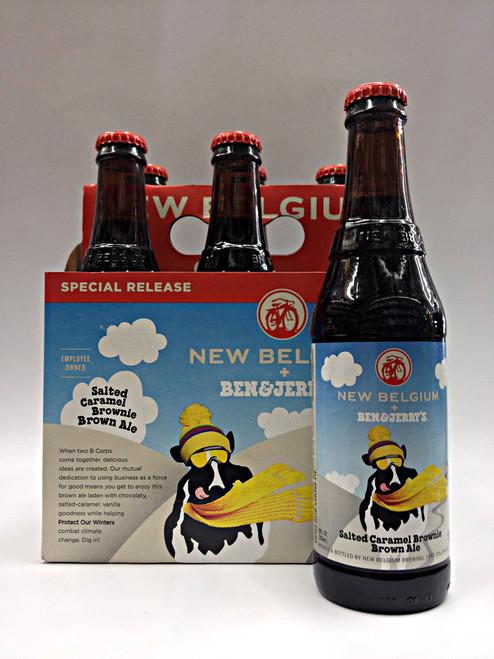 New Belgium Ben & Jerry's Salted Caramel Brownie Brown Ale
