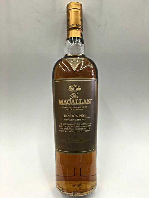 The Macallan Edition No.1 Highland Single Malt Whisky