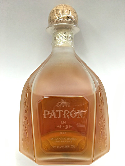 Patron Limited Edition En Lalique Serie 1 Extra Anejo Tequila