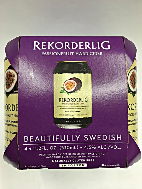 Rekorderlig Passionfruit Swedish Hard Cider