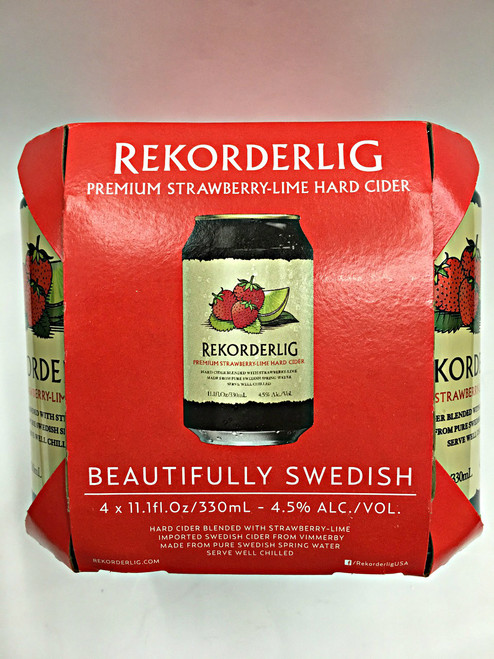 Rekorderlig Strawberry-Lime Swedish Hard Cider