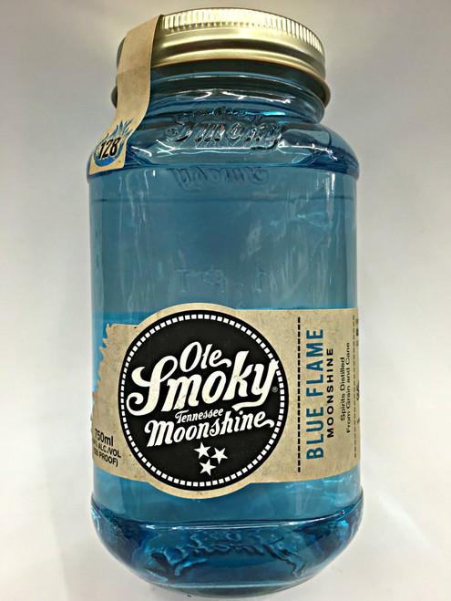 Moonshine Ole Smoky Blue Flame