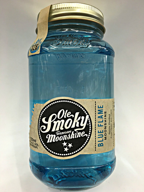 Moonshine Ole Smoky Blue Flame