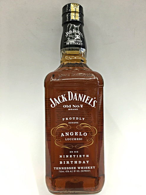 Jack Daniels Honors Angelo Lucchesi 90th Birthday