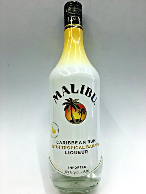 Malibu Caribbean Rum With Tropical Banana