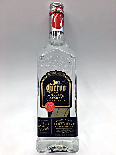 Jose Cuervo The Rolling Stones Tour Pick Blano Tequila