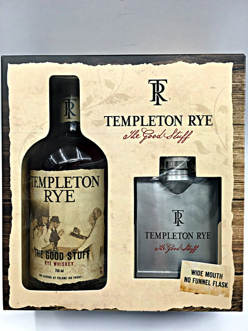 Templeton Rye Gift Set Whiskey