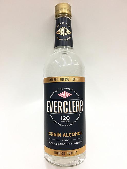 Everclear 120 Proof Grain Vodka