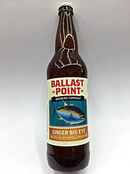 Ballast Point Ginger Big Eye IPA