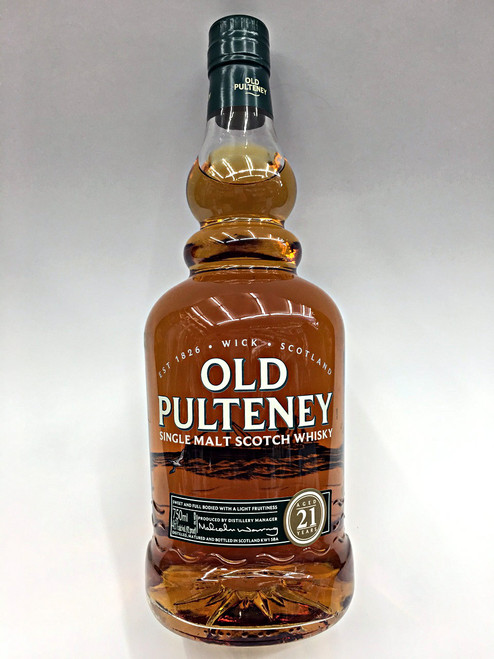 Old Pulteney Single Malt Scotch Whisky 21 Year Old