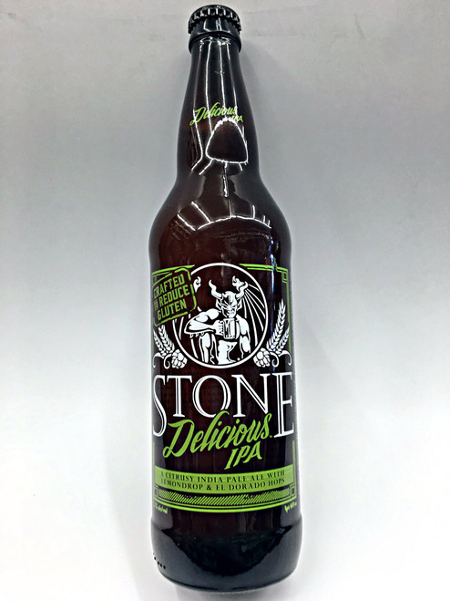 Stone Delicious IPA   Crafted to Reduce Gluten