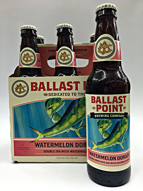 Ballast Point Watermelon Dorado Double IPA