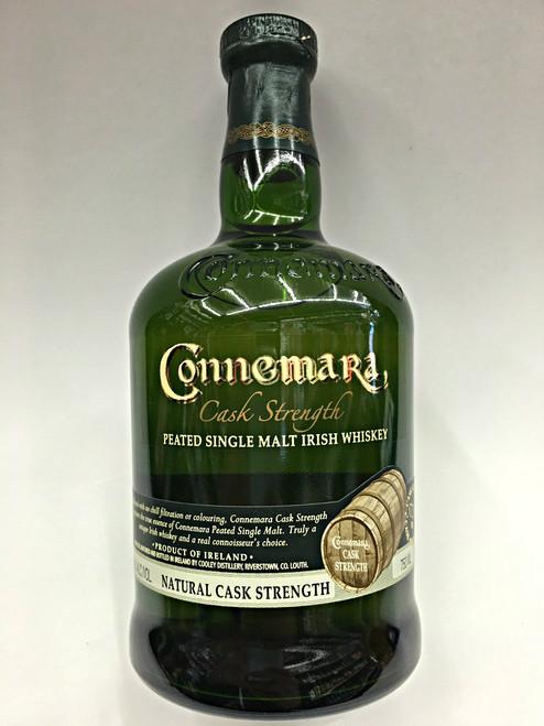 Connemara Cask Strength Peated Single Malt Irish Whiskey 115.8 Proof