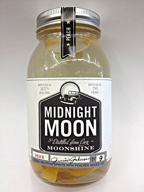 Junior Johnson's Midnight Moon Peach Moonshine