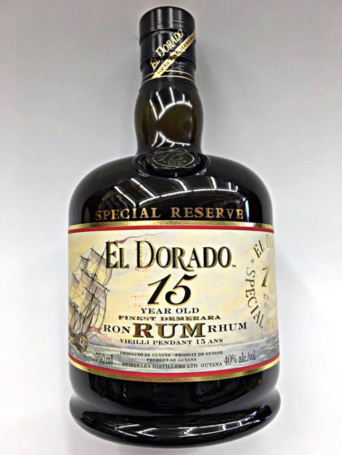 El Dorado 15 Year Old Special Reserve Rhum