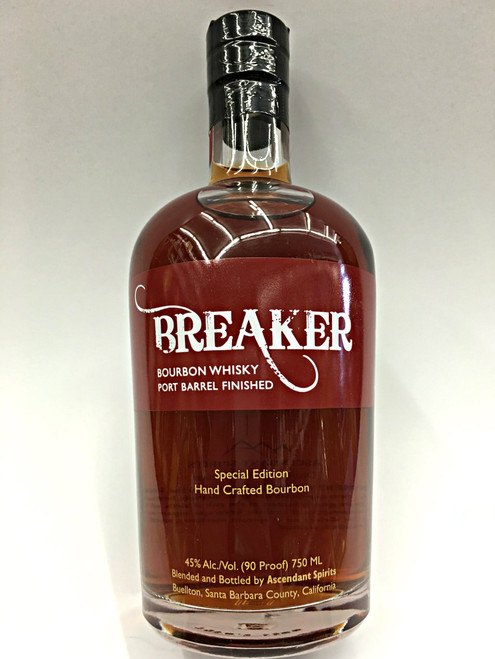 Breaker Bourbon Whisky Port Barrel Finished