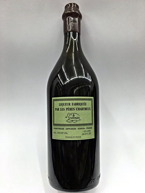 Chartreuse V.E.P. Green Liqueur Fabriquee Par Les Peres Chartreux L Garnier