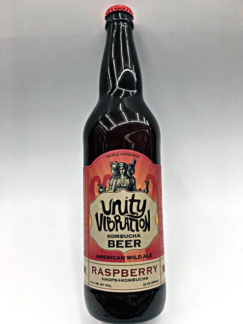 Unity Vibration Kombucha Raspberry Goodness Wild Ale