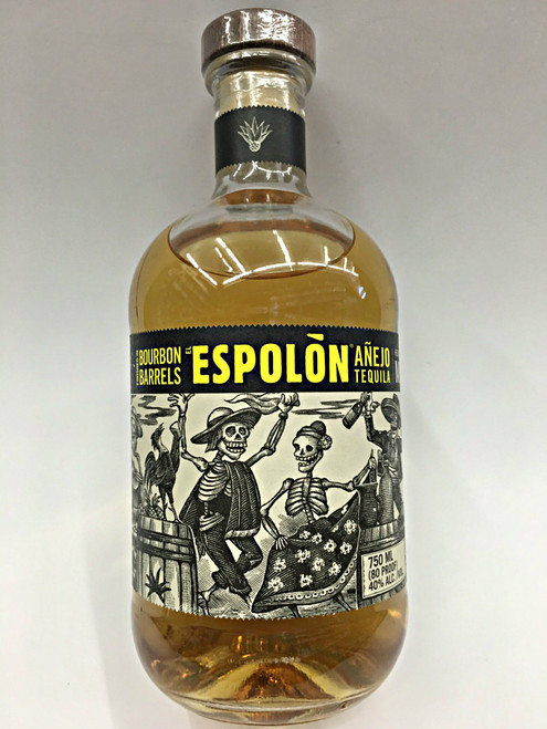 Espolón Anejo Tequila Finished in Bourbon Barrels
