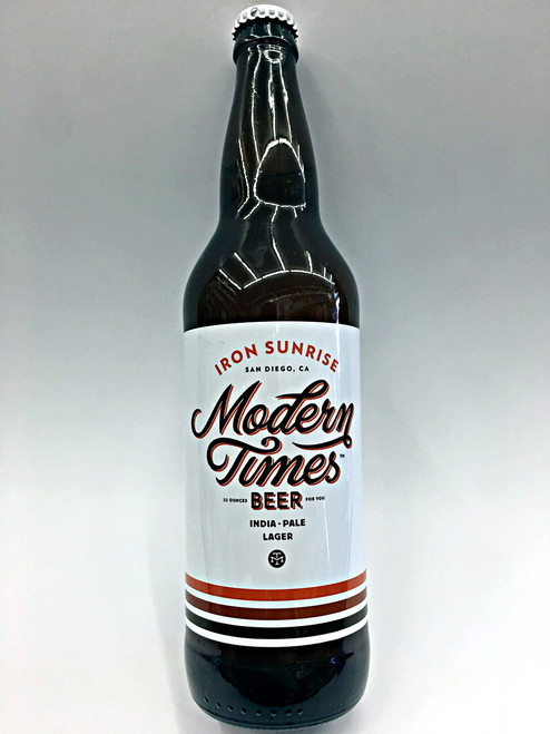 Modern Times Iron Sunrise India Pale Lager