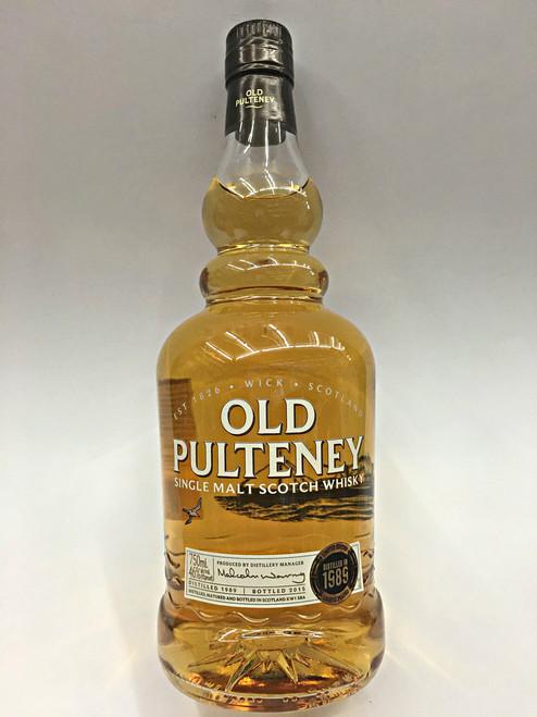 Old Pulteney Vintage 1989
