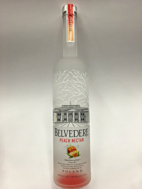 Belvedere Peach Nectar Poland Vodka