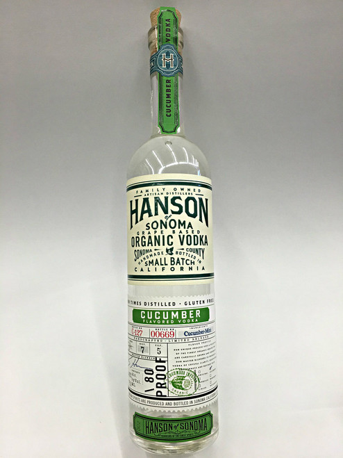 Hanson Organic Cucumber Vodka