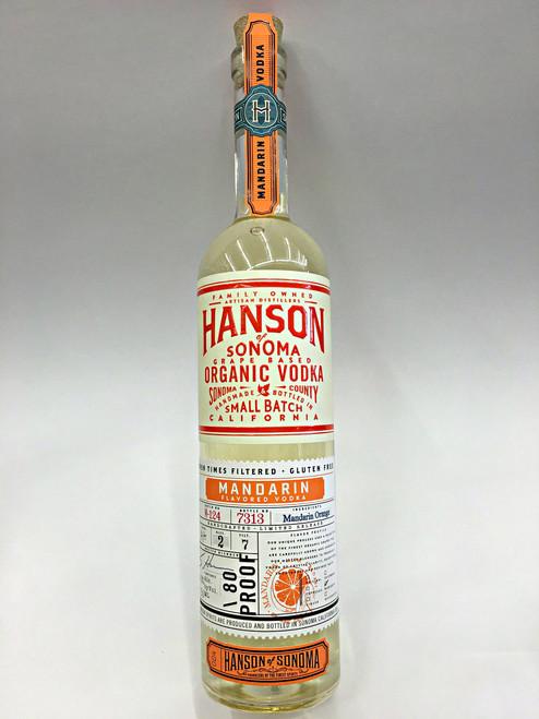 Hanson Mandarin Orange Organic Vodka