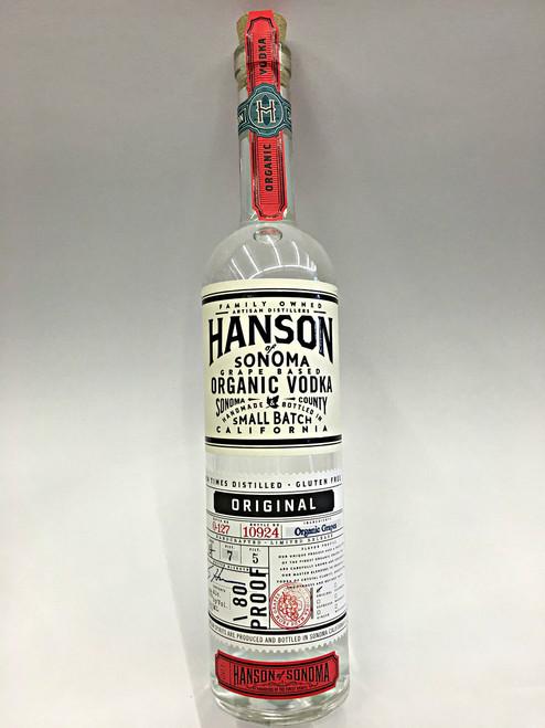 Hanson Small Batch Original Organic Vodka
