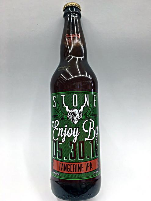 Stone Enjoy By Tangerine IPA   05.30.2016