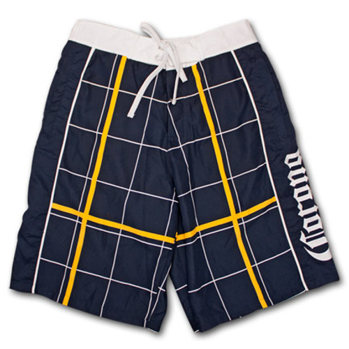 816961f985328 Corona Extra Label Mens Swim Board Shorts Men Athleisure