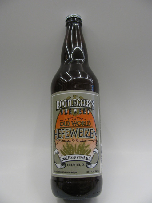 Bootlegger's Old World Hefe 22