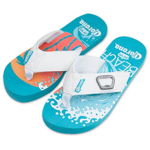4ef9e332f Corona Beer Sandals Beach Scene Flip-Flops - Quality Liquor Store