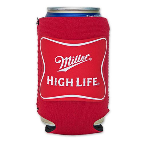 0412ab6d7de27 Miller High Life Cooler Can Koozie - Red - Quality Liquor Store