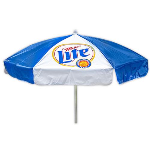 Miller Lite Beer Heavy Duty Vinyl Patio Table Beach Umbrella  sc 1 st  Quality Liquor Store & Miller Lite Beer Heavy Duty Vinyl Patio Table Beach Umbrella ...